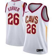 #NBAStore.com - #NBAStore.com Men's Cleveland Cavaliers Kyle Korver Nike White Swingman Jersey - Association Edition - AdoreWe.com
