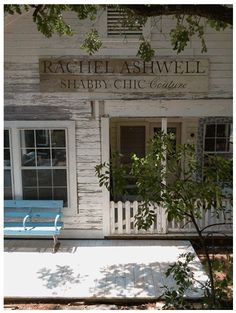 The founder of Shabby Chic Couture, The Prairie By RachelAshwell.  Her new store opened 9/25/2012 at The Prairie by Rachel Ashwell in Round Top, TX. Debut was the day I slept here...talk about Shabby Chic!!!  XOXO Danali Home. http://danalihome.wix.com/danalihome
