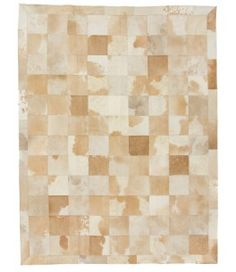 Party Favors Gray Brindle Patchwork Cowhide Rug Squares Design No 245 Clients First