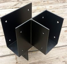 This page features custom timber post brackets used on the tops and the bottoms of wooden posts. From basic post bases, uplift post brackets, caps that con. Timber Beams, Steel Beams, Metal Roof, Wood And Metal, Beam Hangers, Timber Posts, Wood Joints, Post And Beam, Metal Projects