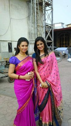 Actress Divyanka Tripathi with Mihika Verma