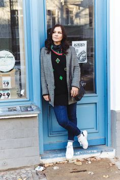 Outfit mit Kenzo Pullover, Adidas Stan Smith Sneakers und Fossil Bag 62d1d345d2