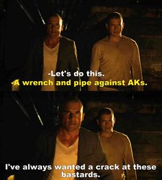 Prison Break S05E05 Michael and Linc
