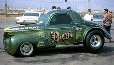 Vintage Drag Racing - Gasser - Burgin Bros.