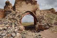 "One of the 400 gates into Ani. An Armenian kingdom that covered much of present day Armenia and eastern Turkey. Was called the ""City of 1001 Churches"","