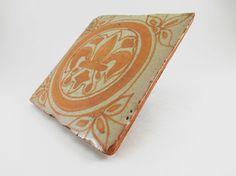 Fleurdelis Antique Clay Terra Cotta / Coaster / by WildGooseChase