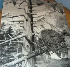 Image detail for -Awesome Black & White pencil drawings pictures Art ~ AMAZING-ARTS