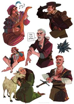 Just the witcher things - The Witcher Game, The Witcher Books, The Witcher Geralt, Witcher Art, Character Concept, Character Art, Concept Art, Witcher Wallpaper, Character Design Inspiration