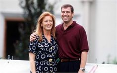 The Duke and Duchess Of York, pictured in 1995 before their divorce.
