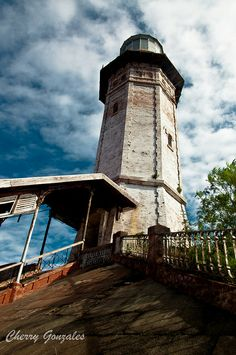 Cape Bojeador Lighthouse in Burgos, Ilocos Norte, Philippines Places To Travel, Places To See, Blue Lagoon Beach, Ilocos, Lighthouse Pictures, Scenic Photography, Landscape Photography, Beacon Of Light, Water Tower
