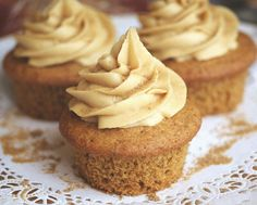 Maple Mania II:  Maple Cupcakes with Maple Buttercream
