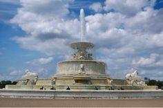 Scott Fountain - Belle Isle - Detroit, Michigan, USA.