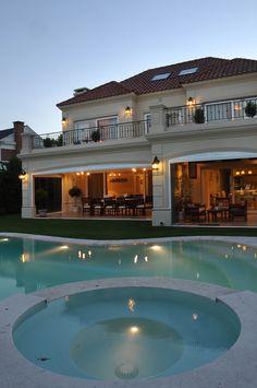 mediterranean homes exterior Online Architecture, Architecture Magazines, Amazing Architecture, Luxury House Plans, Luxury Homes Dream Houses, Dream House Exterior, House Paint Exterior, Exterior Homes, Mediterranean Homes Exterior