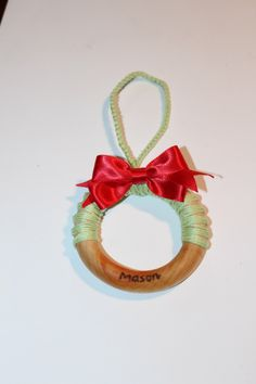 A personal favorite from my Etsy shop https://www.etsy.com/listing/259039051/baby-christmas-ornament-all-natural