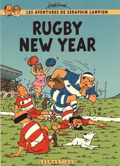 Rugby New Year // Wagg, a rugby champion? ... yeah, I can see it.