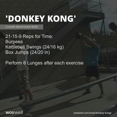 Crossfit Garage Gym, Crossfit Workouts At Home, Wod Workout, Fit Board Workouts, Crossfit Barbell, Gym Resistance Bands, At Home Gym, At Home Wods, Kettlebell Swings