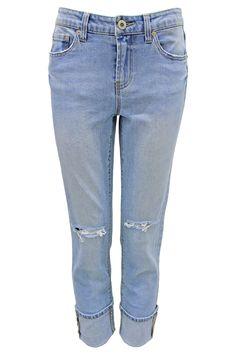 858e767c73f Boyfriend Destructed Ankle Jean