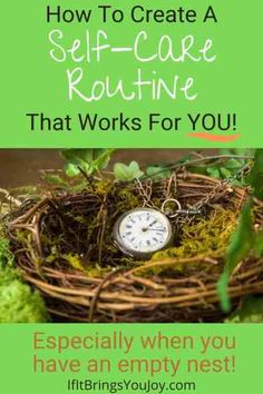 Create a more peaceful life with a daily self-care routine. Ideas for self-care activities and tips for success - especially for midlife women when you have an empty nest. Benefits include stress relief and other mental health improvements. #selfcare Self Care Activities, Peaceful Life, Self Care Routine, Best Self, Stress Relief, Self Improvement, No Time For Me, Empty, Mental Health