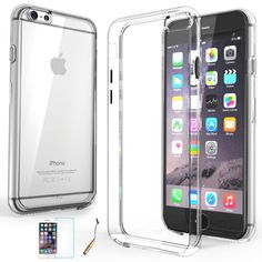 Apple iPhone 6 / 6 Plus Case Slim Thin Transparent Crystal Clear Hard TPU Cover  #UnbrandedGeneric