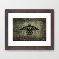 Emblem of the Anishinaabe people - Vintage version Framed Art Print This is a symbol I often see in my area so did a little research! Anishinaabe or Anishinaabeg, which is the plural form of the word—is the autonym often used by the Odawa, Ojibwe, and Algonquin peoples. They all speak closely related Anishinaabemowin/Anishinaabe languages, of the Algonquian language family. #Odawa #Ojibwe #Algonquin #Anishinaabe
