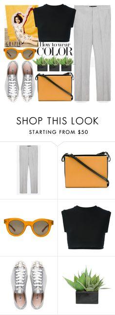 """Book Shoulder Bag"" by jiabao-krohn ❤ liked on Polyvore featuring Zara, Marni, Sun Buddies, adidas Originals, Miu Miu and Lux-Art Silks"