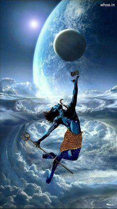 Lord Shiva Dance On Universe With Damru - Images Of Mahadev