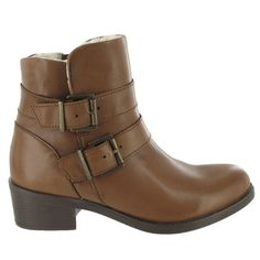 Brown Marta Jonsson Ankle Boot with buckles