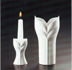 "Vase and candlesticks  "" Rosenthal (Erdinç Bakla archive)"