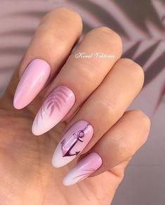 Mary Carey morg_luana French Tip Oval Nails nail striping easy nail ideas magnetic nail polish balarina nails irridecent nai. Soft Nails, Neutral Nails, Simple Nails, Pink Nails, My Nails, Shellac Nails, Hawaiin Nails, Fail Nails, Impress Nails