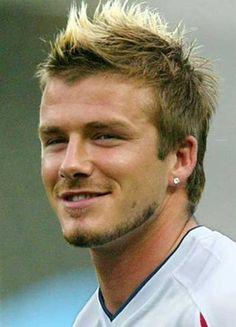 David Beckham Mohawk Hair
