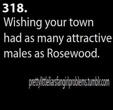 I'm only pinning this because I don't watch Pretty Little Liars, so I immediately thought of the REAL Rosewood...not known for its sexiness.
