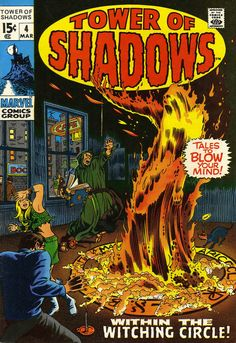 Tower of Shadows cover by Marie Severin, 1970