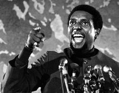 Huey Newton speaking at a Black Panther rally. The other co-founder of the Black Panthers. Black Panthers, Stokely Carmichael, Black Panther Party, By Any Means Necessary, Power To The People, Civil Rights Movement, Black Pride, African American History, American Art