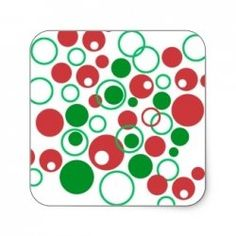 Do you like abstract art? As Christmas is coming up what about Christmasy Items that are decorated with abstracts? What looks great is the abstracted...