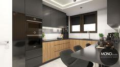 Po więcej inspiracji zapraszam na naszą stronę www.monostudio.pl lub naszego facebooka. Kitchen Ideas, Kitchen Cabinets, Home Decor, Houses, Modern Kitchens, Trendy Tree, Decoration Home, Room Decor, Kitchen Cupboards