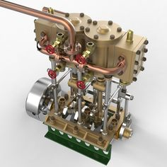 Navy Style Steam Launch Engine Model available on Turbo Squid, the world's leading provider of digital models for visualization, films, television, and games. Steam Motor, Radial Engine, Cad Cam, Small Engine, Steam Engine, Model Airplanes, Electric Motor, Model Ships, Navy Style
