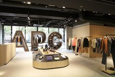 A.P.C. Nagoya store, Japan.