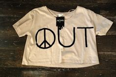 peace out tshirt
