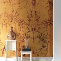 Browse a variety of marble wallpaper from leading designers at Shop our modern wallpaper patterns with our Price Match Guarantee. Wallpaper Bathroom Walls, Gold Marble Wallpaper, Modern Wallpaper, Home Wallpaper, Designer Wallpaper, Old Wall, Living Room Modern, Pattern Wallpaper