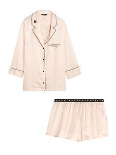 Must-Have: Satin Pajamas via @WhoWhatWearAU