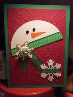 My take on the Snowman card