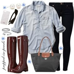 Fall Ready and Thank You! Featuring Abercrombie & Fitch, 7 For All Mankind, Kate Spade, Hunter, Longchamp, Tiffany & Co., David Yurman and Luli