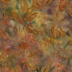 Island Batik Rayon - Sunset Splash