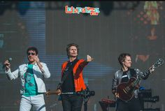 great photo from a great gig! #duranlive, #papergodstour, #lollapalooza