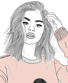 healthy food list for kids diet free recipes Tumblr Girl Drawing, Tumblr Sketches, Tumblr Drawings, Bff Drawings, Cool Drawings, Drawing Sketches, Selena Gomez Drawing, Girls Heart, Disney Stich