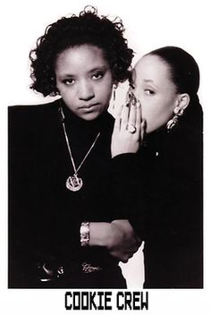 lovebritishmusic:  Who remembers The Cookie Crew! Finding this made me laugh! UK Hip Hop Pioneers - The Cookie Crew aka Suzy Q and MC Remedee.