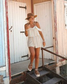 Yellow Stripes Pattern Off Shoulder Romper Sweetheart Neckline Adjustable Waistline Straps are adjustable Chiffon material Crop Top With Jeans, Off Shoulder Romper, Fancy Gowns, Chiffon Material, Yellow Stripes, The Dreamers, Hipster, Rompers, Crop Tops