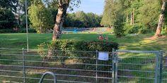 Das Sommerbad Altengamme am Horster Damm ist seit Jahrzehnten eigentlich als geheime Wohlfühloase. Doch nun trübt ein Zaun das Idyll und sorgt für Ärger – sogar die Hamburger Polizei ermittelt.