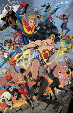 Run the World by Isaac Goodhart. Heroines from comics, books, movies and t. Marvel Women, Marvel Girls, Comics Girls, Marvel Vs, Marvel Dc Comics, Captain Marvel, Princesa Anastasia, Female Hero, Cartoon Crossovers
