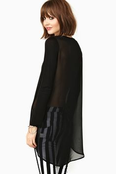 Mirage Tail Tee in Clothes Tops Tees at Nasty Gal